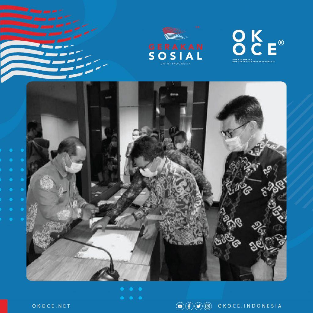 MOU OK OCE Dengan Dinas Kepulauan Bangka Belitung