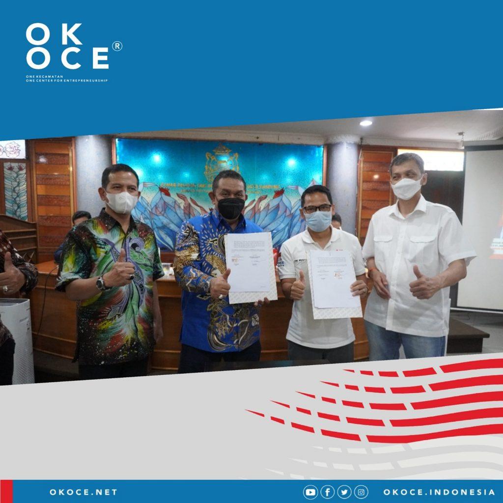 Penandatanganan Kerjasama OK OCE Bersama KADIN Jawa Barat